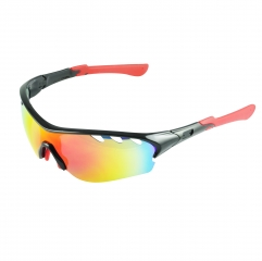 sports sunglasses with bendable arms