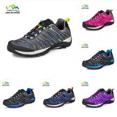 Color gray lovers' hiking shoes for female