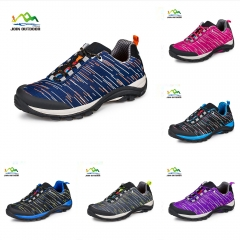 Color blue lovers hikking shoes for male