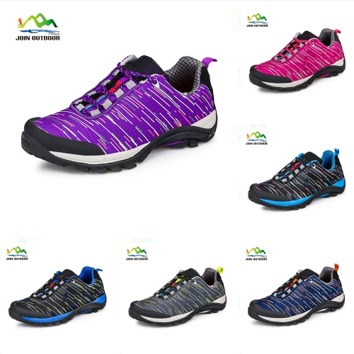 Color purple lovers' hiking shoes for female
